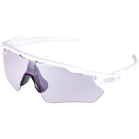 Oakley Radar EV Path Pyöräilylasit, polished white/prizm low light